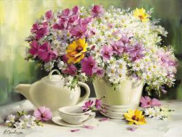 Bouquet Mit Kamille #11671