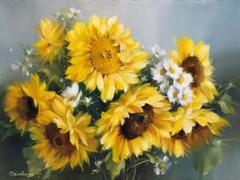 Sonnige Blumen #11684