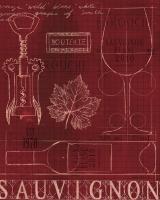Wine Blueprint IV #14704-8x10