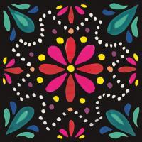Floral Fiesta Tile II #41504