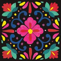 Floral Fiesta Tile VII #41509