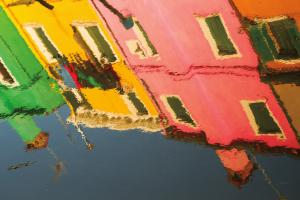 Reflections of Burano X #41603