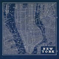 Blueprint Map New York Square #44644