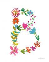 Floral Alphabet Letter II #45479