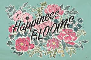 Live in Bloom I Teal #45945