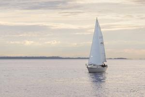 Sailboat in Semiahmoo Bay #46112