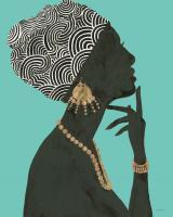 Graceful Majesty I Turquoise Crop #46337