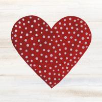 Rustic Valentine Heart I #46675