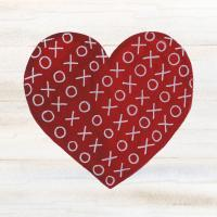 Rustic Valentine Heart IV #46678
