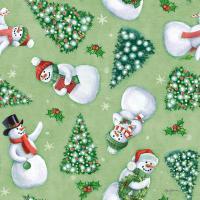 Classic Snowmen Step 01C #47170