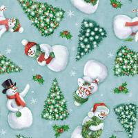 Classic Snowmen Step 01D #47171