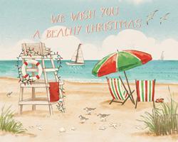 Beach Time I Christmas #47616