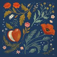 Blue Botanical III #48602