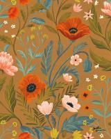 Blue Botanical Pattern ID #48608