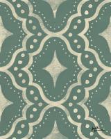 Blue Botanical Pattern IVD #48616