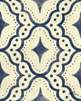 Blue Botanical Pattern VA #48617