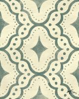 Blue Botanical Pattern VD #48620