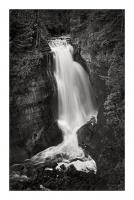 Miners Falls Michigan BW #50166