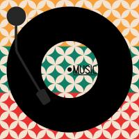 Vinyl Music Retro #50936