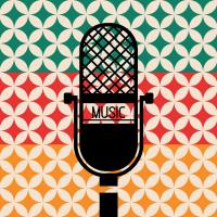 Microphone Music Retro #50937