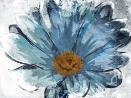 Sketched Blue Flower #51811