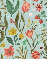 Spring Botanical Pattern IC #53492