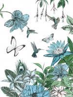 Butterflies and Flowers III #56599