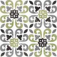 Classic Citrus Pattern IV Black #56948