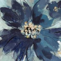 Inky Floral III Cool #56955
