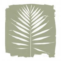 Nature by the Lake - Frond IV Warm Sq #60546