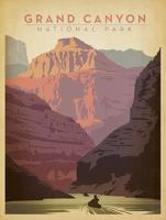 VINTAGE ADVERTISING GRAND CANYON USA #JOEAND 116280