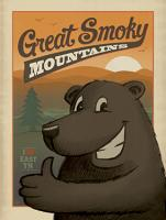 VINTAGE ADVERTISING GREAT SMOKEY MOUNTIANS BEAR #JOEAND 116282