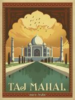 VINTAGE ADVERTISING TAJ MAHAL INDIA TEMPLE #JOEAND 116786