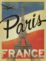 VINTAGE ADVERTISING PARIS EIFFEL TOWER FRANCE #JOEAND 116791