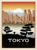 VINTAGE ADVERTISING TOKYO JAPAN CITY #JOEAND 116797