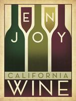 VINTAGE ADVERTISING ENJOY WINE CALIFORNIA USA #JOEAND 116832