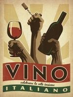 VINTAGE ADVERTISING VINO WINE ITALY #JOEAND 116845