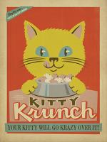 Kitty Krunch vintage cat food #JOEAND116836