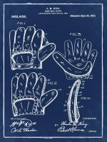 Baseball Glove, 1909-Blue I #BE112933