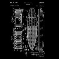 Surfboard, 1948-Black #BE113013