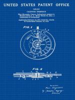 Calendar Time Piece, 1950- Blu #BE113037