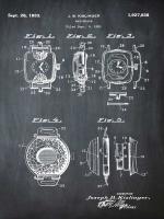 Watch Case, 1931-Black #BE113056