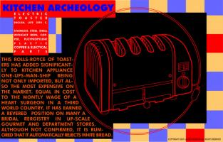 Kitchen Archeology - Electric Toaster #81762