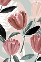 Dreamy Petals I #EZ644-A