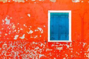 Burano Red Wall #90681