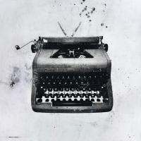 Black Typewriter #81131