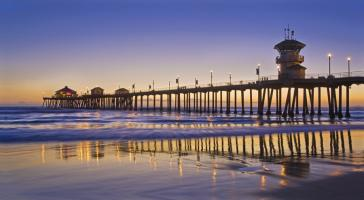 Huntington Beach Pier 3 #91626