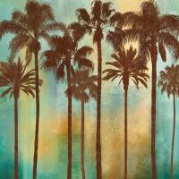 Aqua Palms I #IS6828
