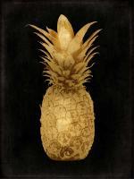 Gold Pineapple on Black I #KTB114253