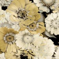 Floral Abundance in Gold II #KTB115117
